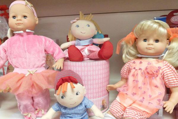 Puppen und Plüsch