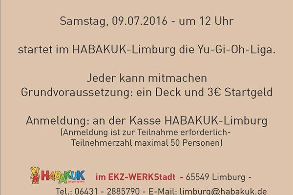 Yu-Gi-OH Duell im HABAKUK-Limburg