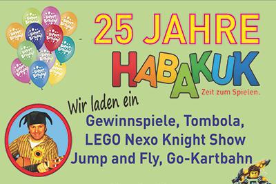 25 JAHRE HABAKUK – Kinderfest 8. und 9. Oktober 2016