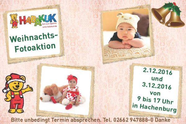 WEIHNACHTSFOTOAKTION IN HACHENBURG