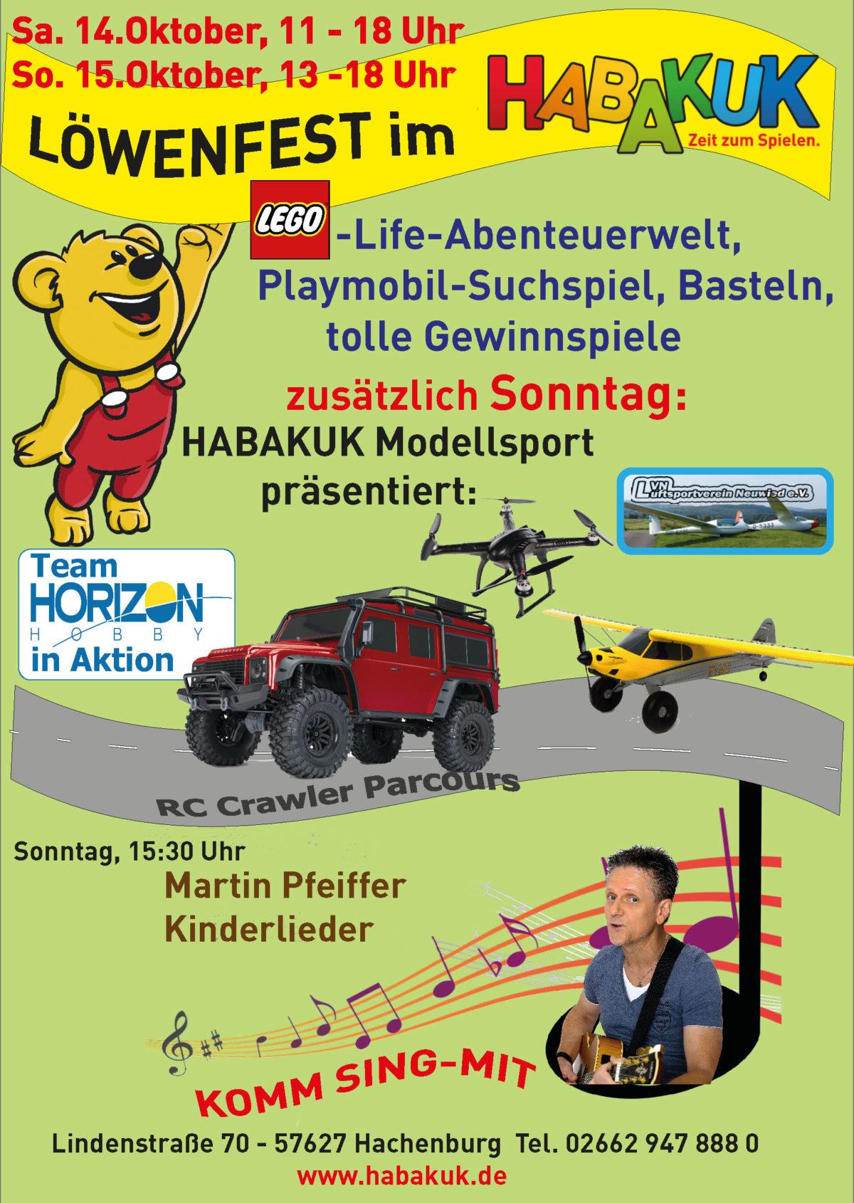 Flyer Löwenfest