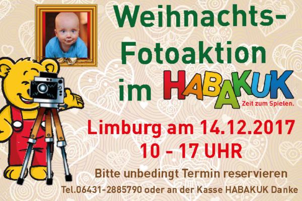 WEIHNACHTS – FOTOAKTION IN LIMBURG