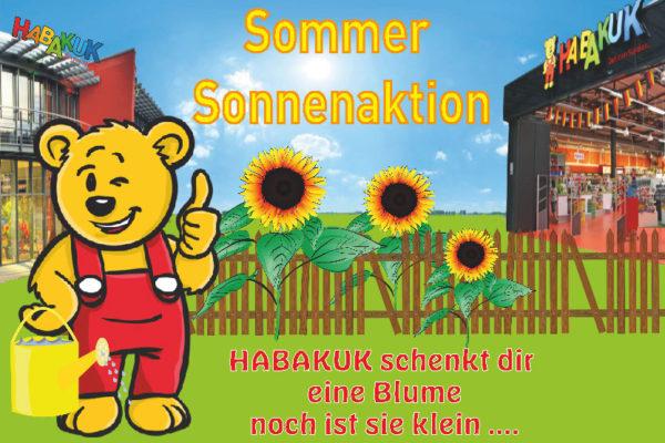 Sommer Sonnenaktion