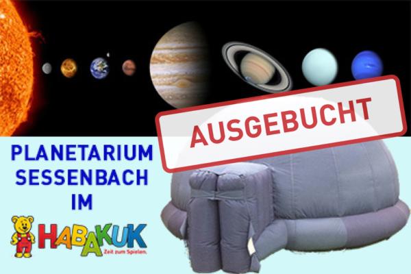Planetarium Sessenbach LIVE im HABAKUK in Hachenburg **AUSGEBUCHT**