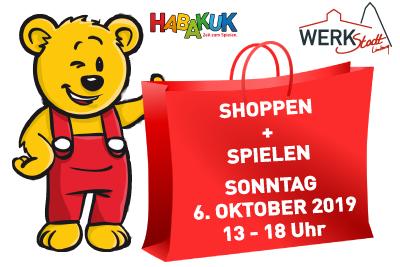 Shoppen und Spielen – 6.10.2019 HABAKUK Limburg