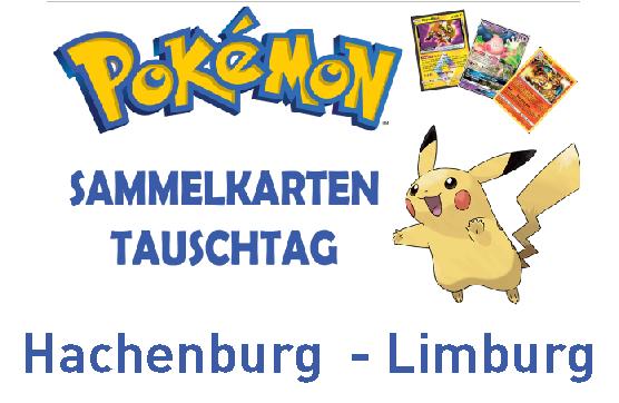 Pokémonkarten – Tauschtag Hachenburg und Limburg